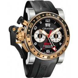 Graham Chronofighter Oversize GMT 2OVGG.B21A