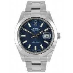 Rolex Datejust II Blue/index Oyster 116300