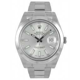 Rolex Datejust II Silver/index Oyster 116300