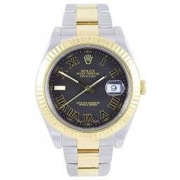 Rolex DateJust II Grey Roman 116333