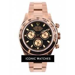Rolex Daytona EverRose Black Dial- 116505