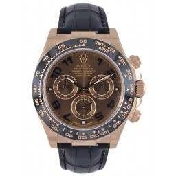 Rolex Cosmograph Daytona Chocolate Arab Leather 116515LN