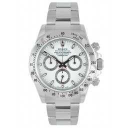 Rolex Cosmograph Daytona Stainless Steel White 116520