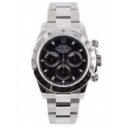 As new Rolex Daytona 116520 Black dial