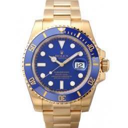 As New Rolex Submariner Yellow Gold - Rolex Warranty- 116618LB