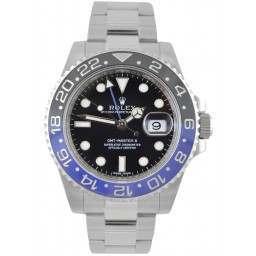 Rolex GMT-Master II Steel Black & Blue 116710BLNR