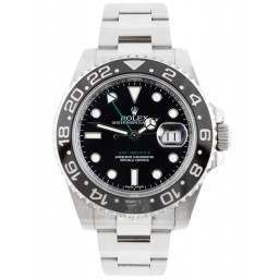 Rolex GMT-Master II Stainless Steel Black Dial 116710LN - 2018