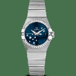Omega Constellation Brushed Chronometer 123.15.27.20.03.001