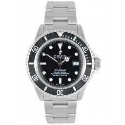 Rolex Seadweller Stainless Steel Black Dial 16600