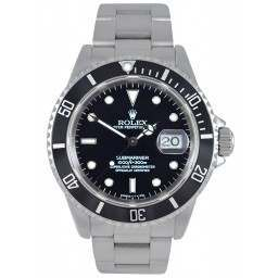 Pre-Owned Rolex Submariner Black Dial 16610
