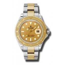 Rolex Yacht-Master 40mm Champagne/index Oyster 16623