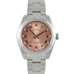 Rolex Oyster Perpetual 31mm Steel & White Gold 177234
