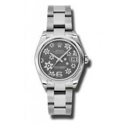 |superceded| Rolex Unisex - 178240 (Flower Dial, Oyster Bracelet)
