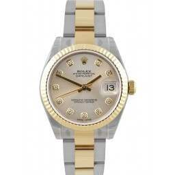 Rolex Lady Datejust 31mm Silver/diamond Oyster 178273