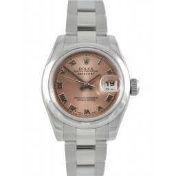 Rolex Lady-Datejust Pink Roman Oyster 179160