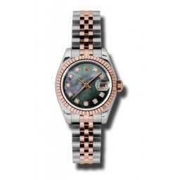 Rolex Lady-Datejust Black mop/Diamond Jubilee 179171