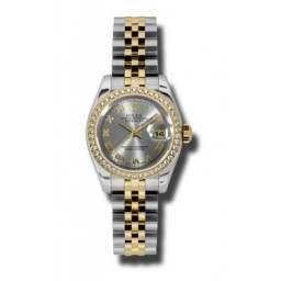 Rolex Lady-Datejust Steel Roman Jubilee 179383