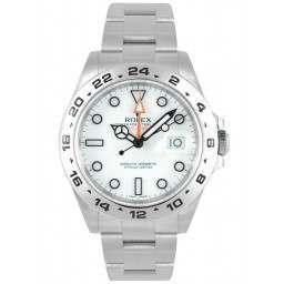 As New Rolex Explorer II White Dial 216570