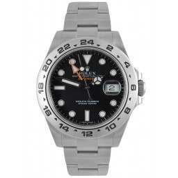 Rolex Explorer II Black Dial Oyster 216570