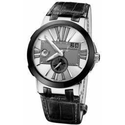 Ulysee Nardin Executive Dual Time 43mm 243-00/421