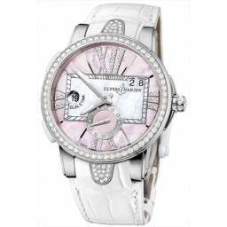 Ulysee Nardin Executive Dual Time Lady 243-10B/397