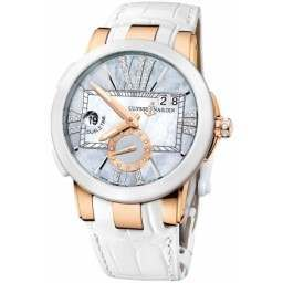 Ulysee Nardin Executive Dual Time Lady 246-10/392