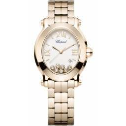Chopard Happy Sport Oval 7 Floating Diamonds 275350-5002