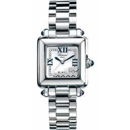 Chopard Happy Sport Classic Square 7 Floating Diamonds 278349-3006