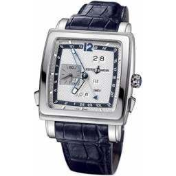 Ulysee Nardin Quadrato Dual Time Perpetual 320-90/61