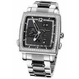 Ulysee Nardin Quadrato Dual Time Perpetual 320-90B-8M/62