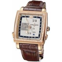 Ulysee Nardin Quadrato Dual Time Perpetual 326-90B/61