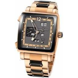 Ulysee Nardin Quadrato Dual Time Perpetual 326-90CER-8M/69