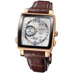 Ulysee Nardin Quadrato Dual Time Perpetual 326-90CER/91