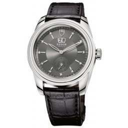 Tudor Glamour Double Date Watch Grey Dial 57000