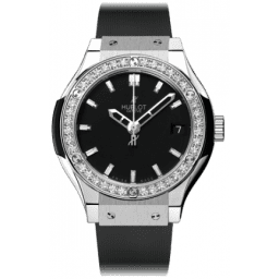Hublot Classic Fusion Titanium Diamonds 581.NX.1170.RX.1104