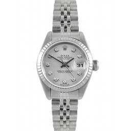 Rolex Lady Datejust Silver/ Diamond Jubilee 79174