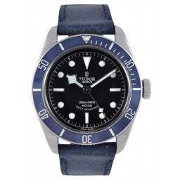 Tudor Heritage Black Bay 79220B Leather