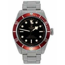 "Tudor Heritage Black Bay Red ""Rivet"" Steel Bracelet 79230R"