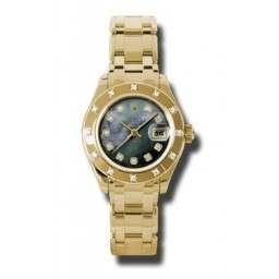 Rolex Lady Pearlmaster Black mop/diamond 80318