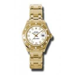 Rolex Lady Pearlmaster White/diamond 80318