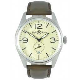 Bell & Ross Vintage Aviation Type BR12395-SS