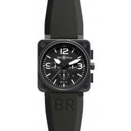 Bell & Ross BR 01-94 Chronographe Carbon BR0194-BL-CA