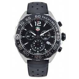 Tag Heuer F1 Quartz Chronograph Black Dial CAZ1110.FT8023