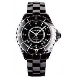 Chanel J12 Black Ceramic H2131