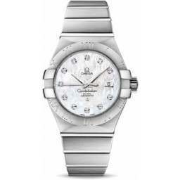 Omega Constellation Brushed Chronometer 123.10.31.20.55.001