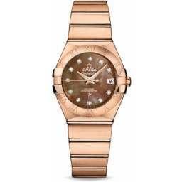 Omega Constellation Brushed Chronometer 123.50.27.20.57.001