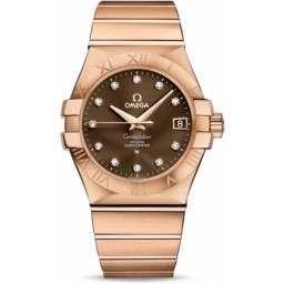 Omega Constellation Chronometer 35 mm Chronometer 123.50.35.20.63.001