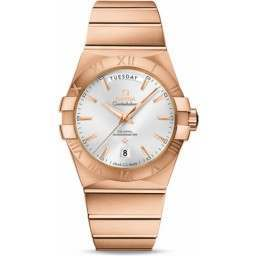 Omega Constellation Day-Date Chronometer 123.50.38.22.02.001