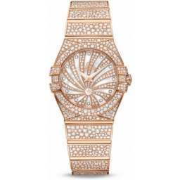 Omega Constellation Luxury Edition Diamonds 123.55.24.60.55.009