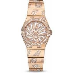Omega Constellation Luxury Edition Diamonds 123.55.24.60.55.011